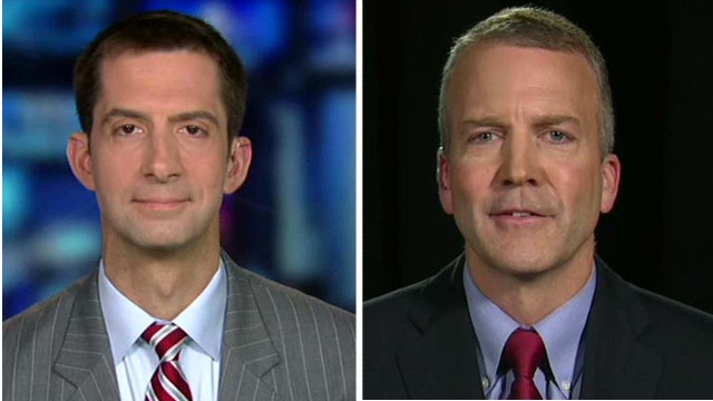 Senate candidates react to attacks over military service