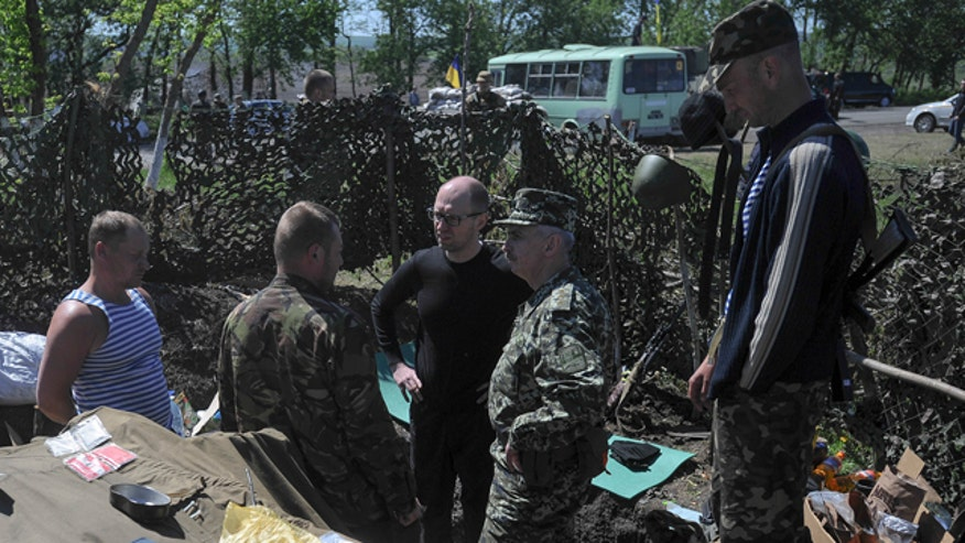 Leland Vittert reports from Donetsk, Ukraine