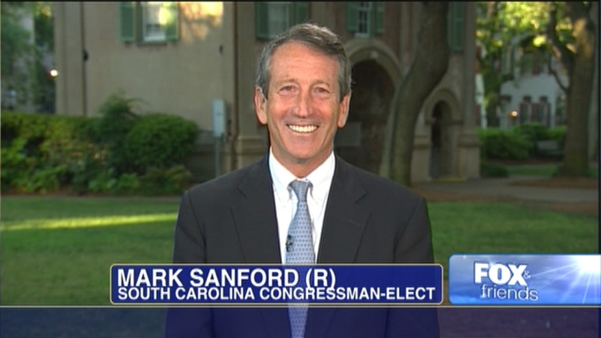 Mark Sanford is headed back to Congress after his career was derailed by scandal four years ago.