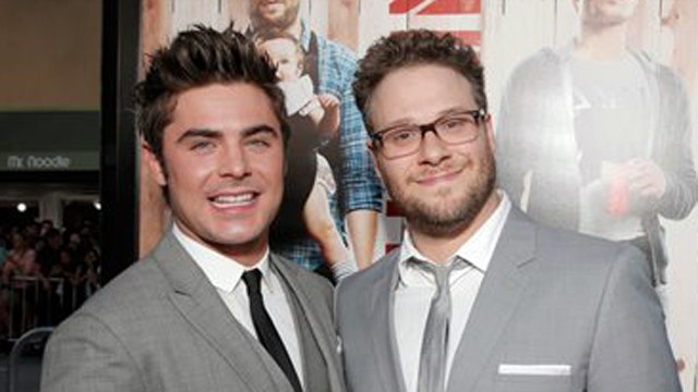 Seth Rogen teams up with Zac Efron in new comedy 'Neighbors'