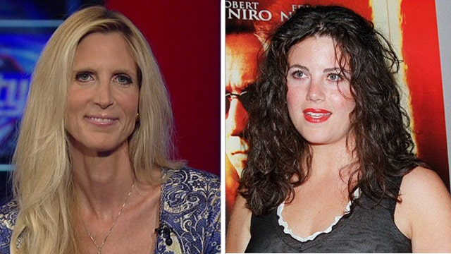 Ann Coulter reacts to Monica Lewinsky's comeback column