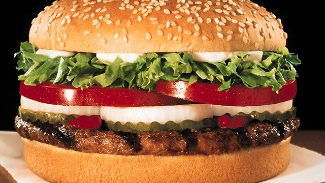 Wake up and smell the Whopper?