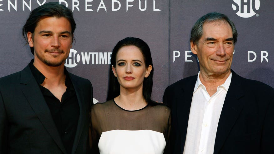 Timothy Dalton, Josh Hartnett and Eva Green discuss the Showtime series that begins May 11.