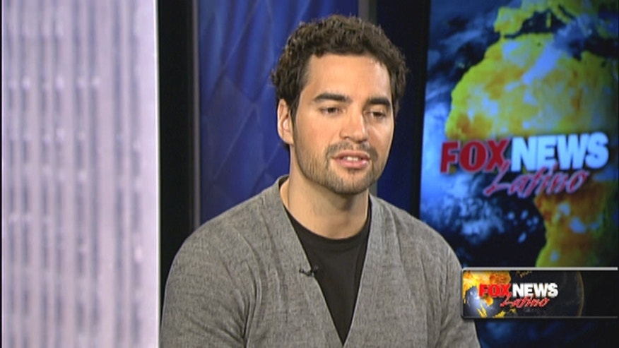 "Actor Ramon Rodriguez spoke with gang members and policemen to prepare for his TV show, ""Gang Related."""