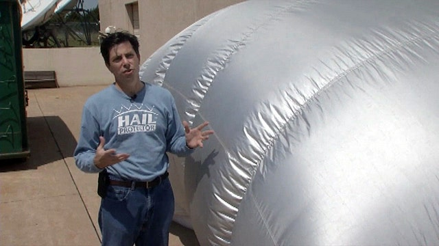 Inventor: Hail Protector will save your car