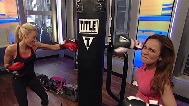A workout that really packs a punch