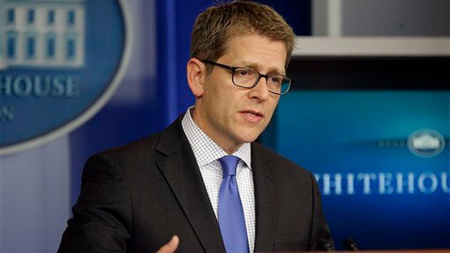 Jay Carney grilled by reporters over talking points