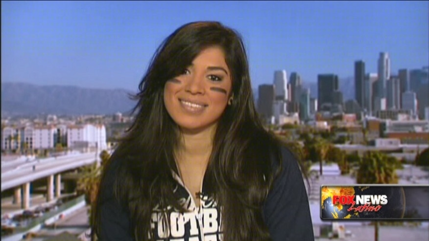 Monique Gaxiola of the Los Angeles Temptation talks women's football with Fox News Latino.