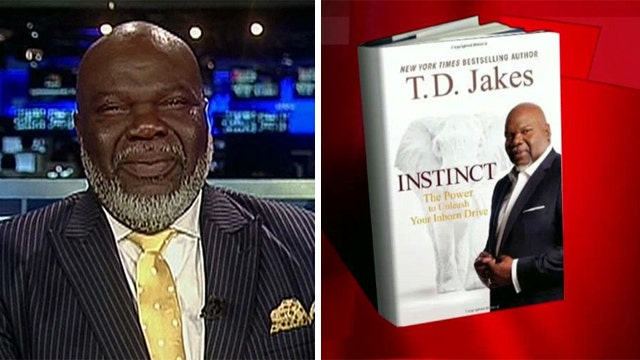 Bishop T. D. Jakes talks about living by instinct