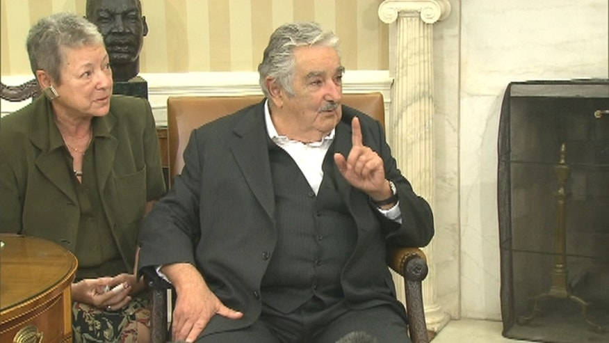 In his White House visit, Uruguay President Jose Mujica Cordano spoke about the increasing importance for people in the Western Hemisphere to be bilingual.
