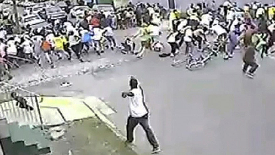 Jamie Colby reports on Mother's Day parade violence