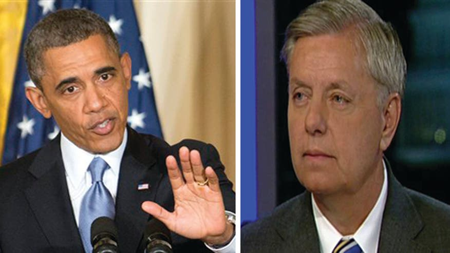 Sen. Lindsey Graham responds to Pres. Obama's allegations of political motives in ongoing Benghazi scandal
