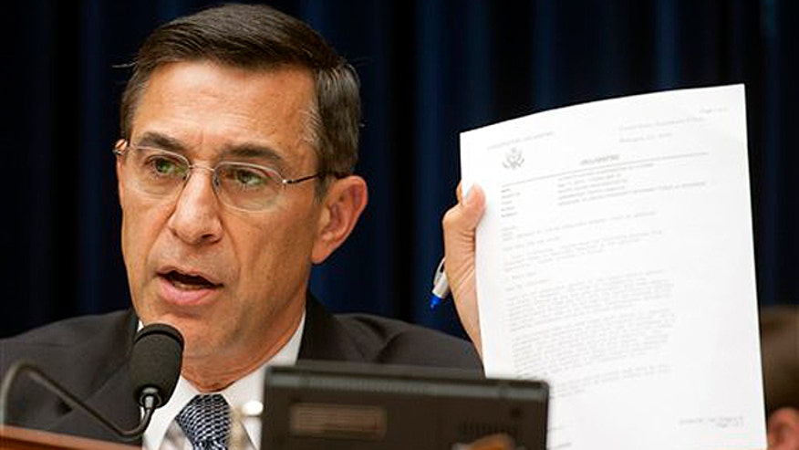 Chairman of House oversight committee on AP, IRS and Benghazi scandals