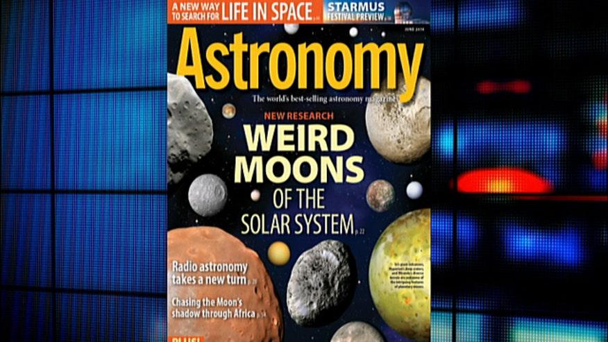 Astronomy Magazine Editor Karri Ferron discusses five unique moons