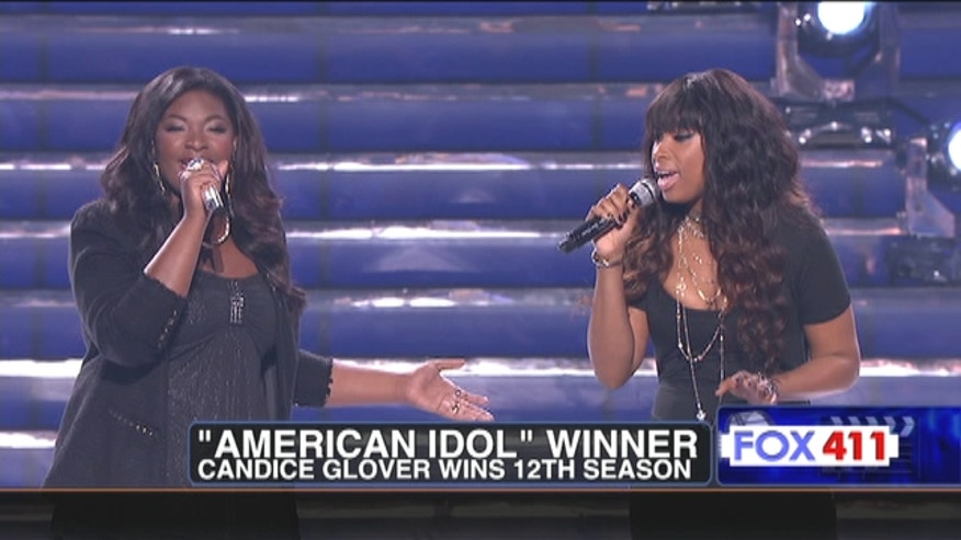 "Candice Glover is the new ""American Idol"" winner."