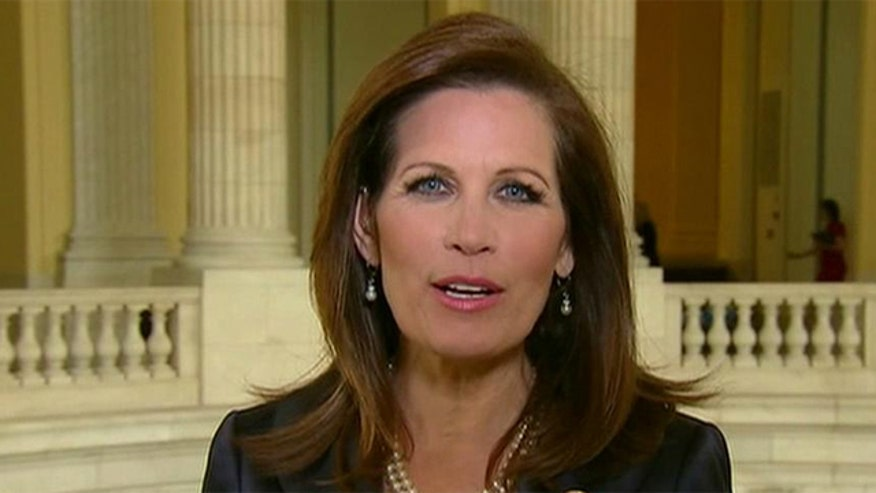 Rep. Michele Bachmann sounds off