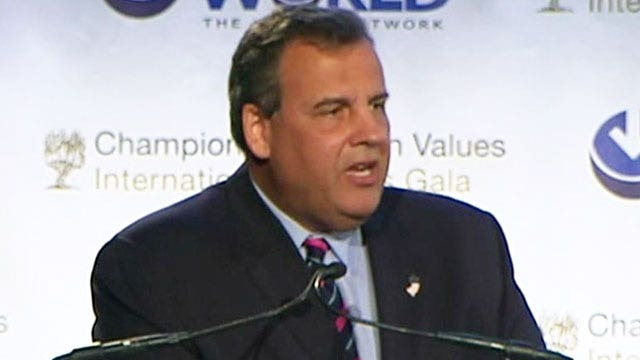 Christie calls for more aggressive foreign policy after stumble on Israel