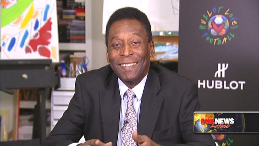 Soccer great Pelé talks about Brazil winning World Cup