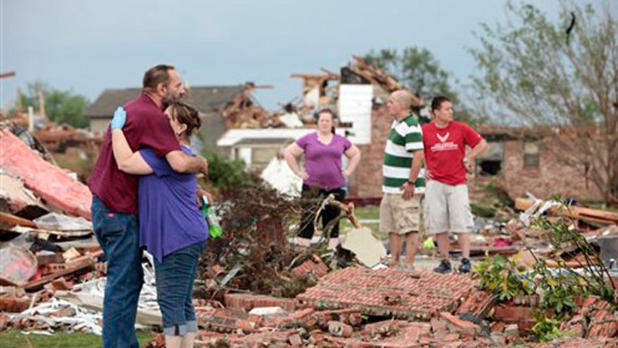 Oklahoma resident describes 'unimaginable devastation' as he details how he lost his home in mile-wide tornado