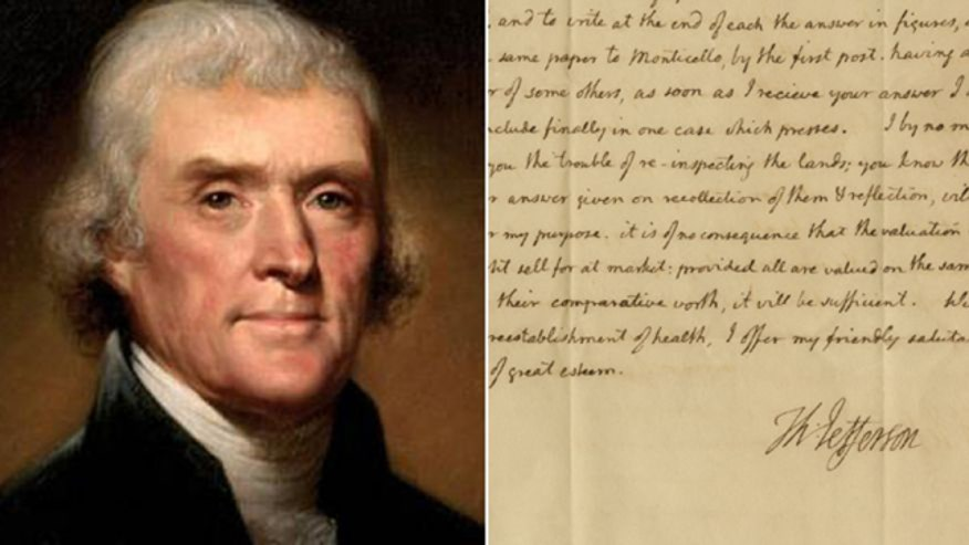 The Raab Collection's Nathan Raab on what the new letter reveals about Thomas Jefferson's personal life