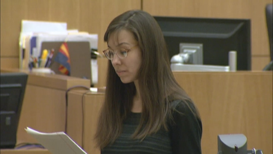 Jodi Arias addressed the jury in the penalty phase of her trial as the panel considers whether to sentence her to life in prison or execution.