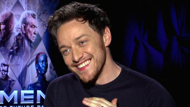 'X-Men' star James McAvoy jabs 'wannabe' superhero rivals