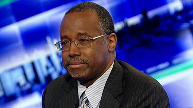 Dr. Carson fires up 'The View' over welfare comments