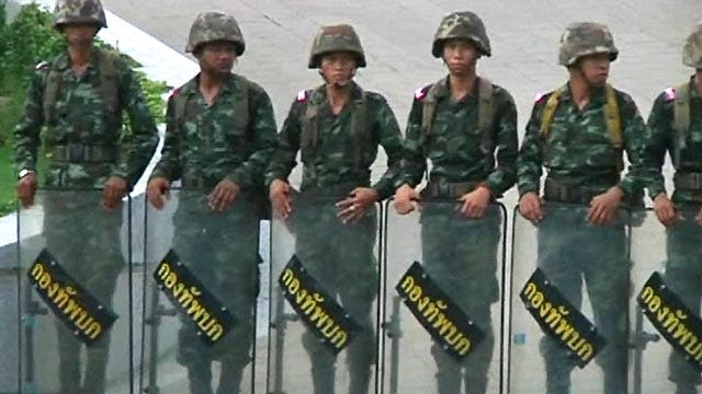 Thailand military: Former Prime Minister Yingluck Shinawatra, others held 'to think'