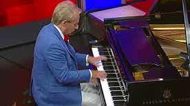 Concert pianist's patriotic medley