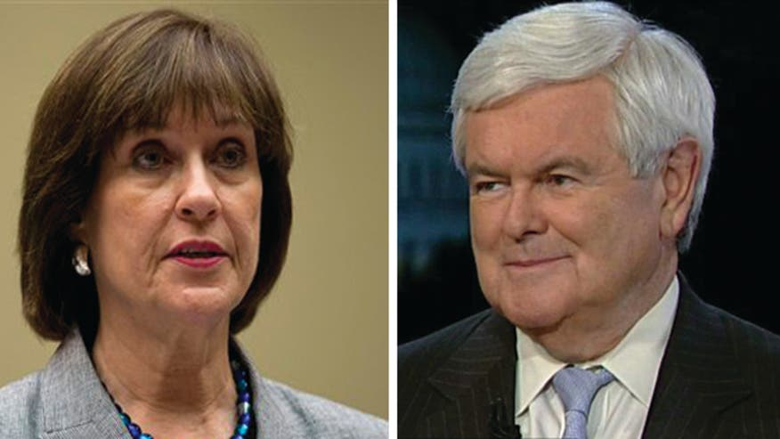 Former House Speaker Newt Gingrich on official Lois Lerner's controversial refusal to testify before Congress about the IRS's political profiling, the lack of accountability in the scandal and what it says about the president
