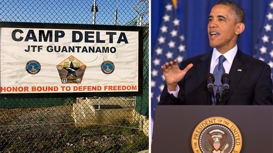 Speech called for Gitmo to close
