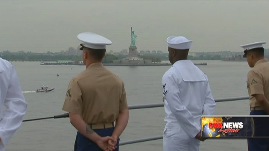 Fleet Week in New York City gives Marines and Sailors a chance to interact with civilians.