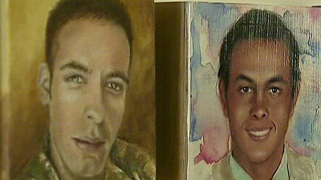 Portraits of the Fallen Memorial comforts families