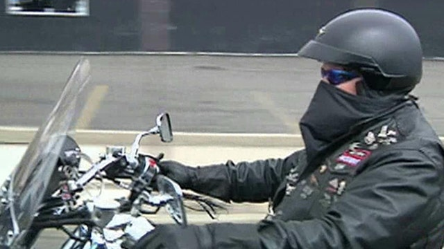 Bikers fighting for abused children