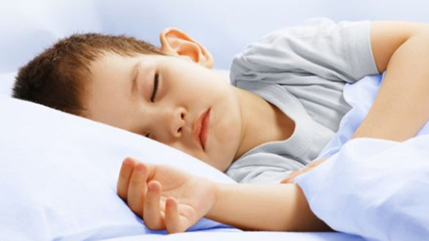 New insight into kids' sleeping patterns