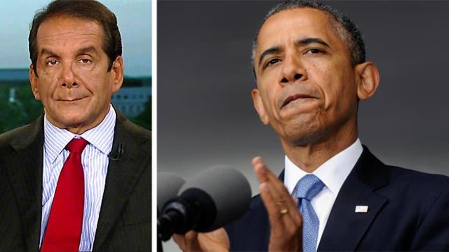 """Krauthammer:  Obama's West Point Speech """"literally pointless"""""""