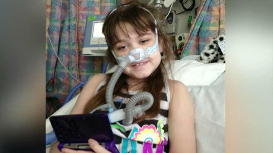 10-year-old waiting for lung transplant