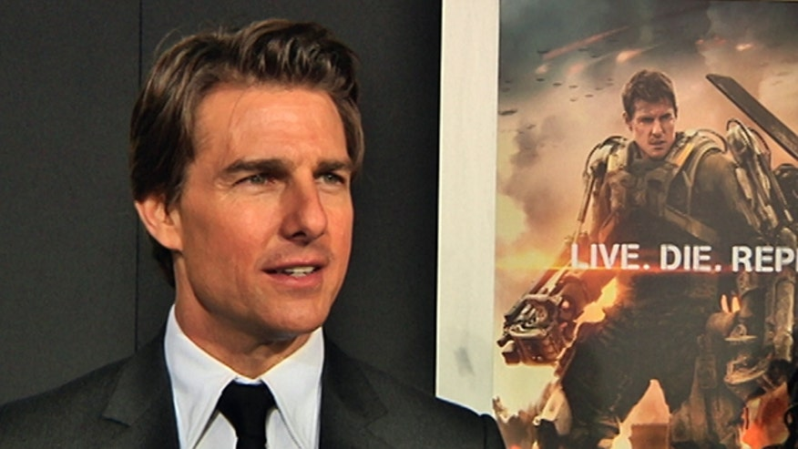 "Michael Tammero catches up with Emily Blunt and Tom Cruise at (one of their many) red-carpet appearances for ""Edge of Tomorrow."""