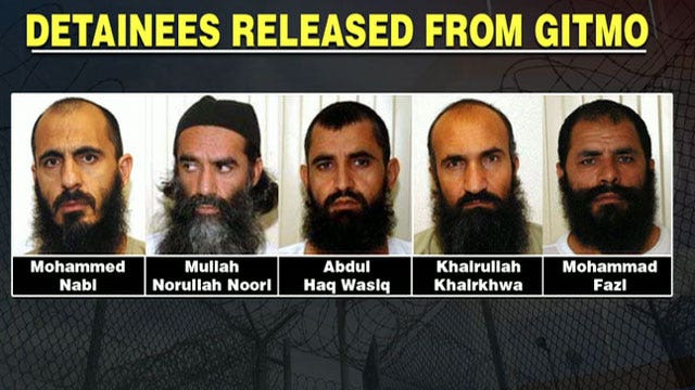 'Taliban Dream Team': Who are the 5 prisoners traded for Bergdahl's freedom?