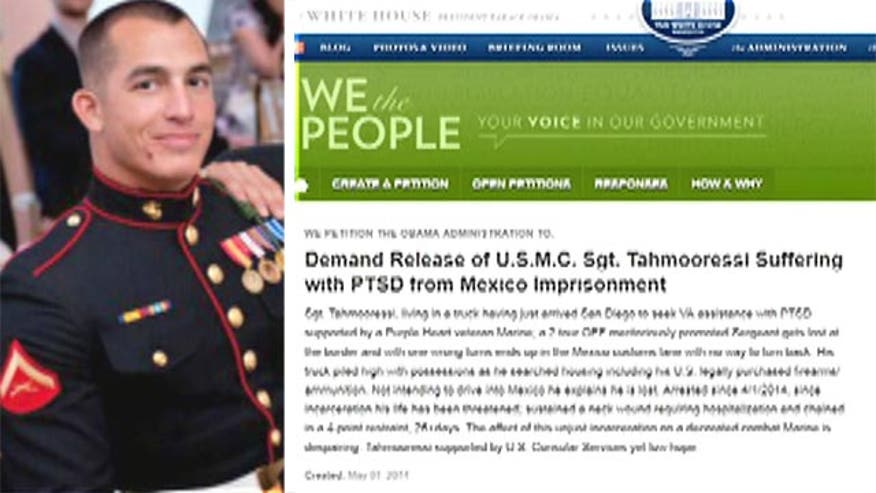 'Off the Record,' 6/2/14: Thanks to you, the White House petition to free Sgt. Tahmooressi from Mexico prison has reached 100K signatures online. Now, President Obama has to listen. #MarineHeldinMexico