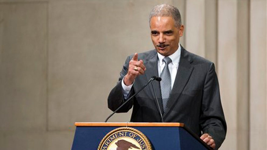 Response to Holder's 'off-the-record' meeting