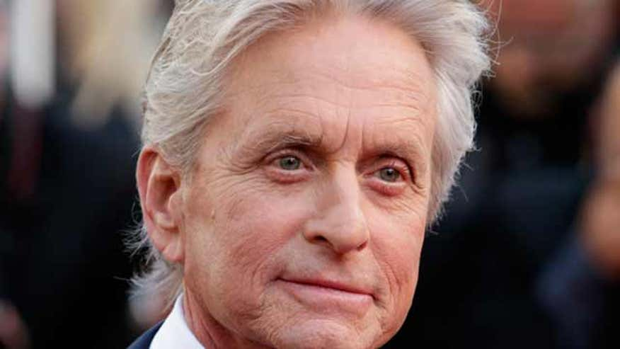 Michael Douglas told paper he got throat cancer from oral sex