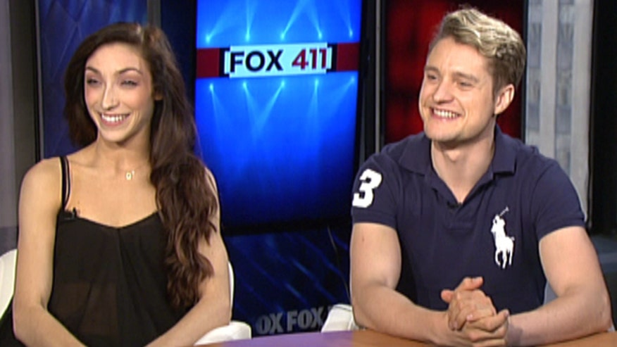 Olympic gold-winning skaters discuss Sochi and 'Dancing With the Stars'