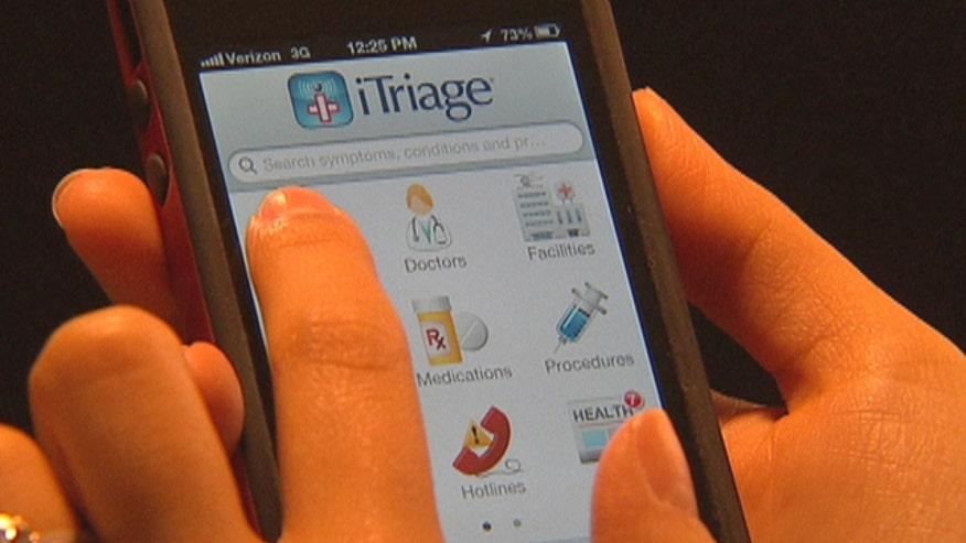 When you want answers about your health - turning to the Internet is a good way to find information.  But sometimes it's difficult to separate fact from fiction on the Web,  so two ER doctors developed an app called iTriage to help people answer their burning questions