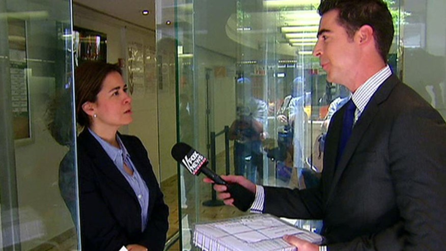 Jesse Watters presents a petition for the release of imprisoned Marine to the Mexican consulate