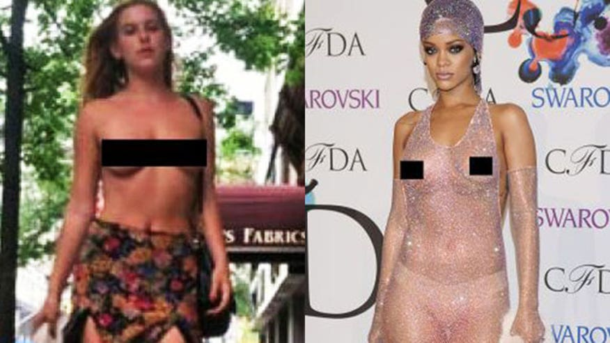 Four4Four: Rihanna and Scout Willis are at the tip of the #freethenipple iceberg. Plus Jonah Hill apologizes, Angelina Jolie is scared of noone, and stars can't sell ice cubes on the North Pole