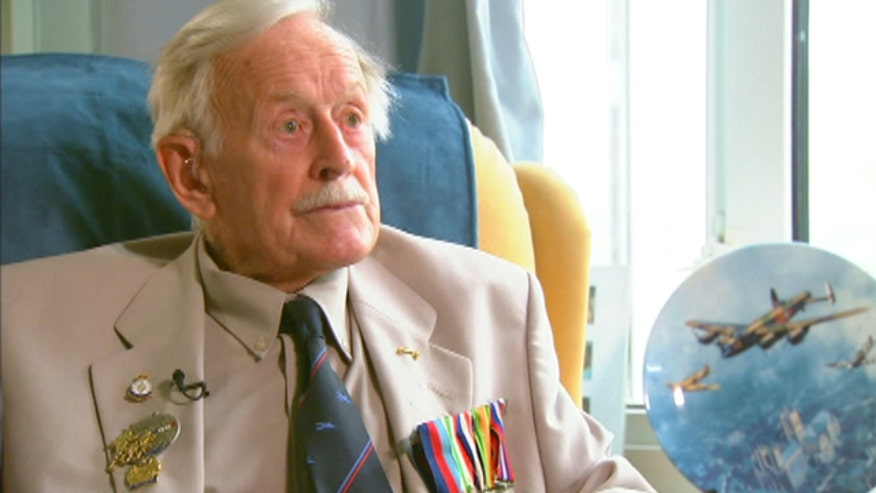 91-year-old Maurice Macey known as 'Hawk Eye' tells harrowing tales of service during WWII