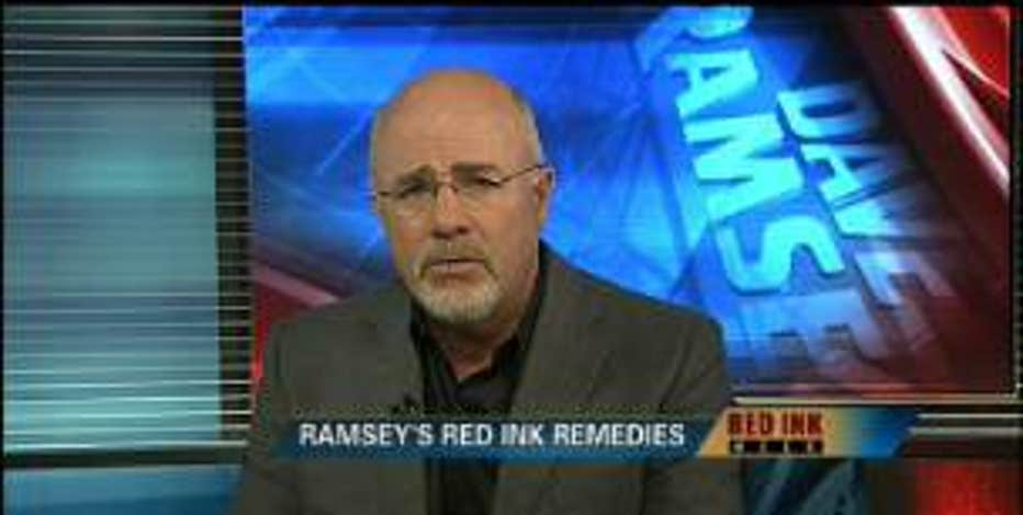 Red Ink Watch: FBN's Dave Ramsey offers tips for surviving the recession.