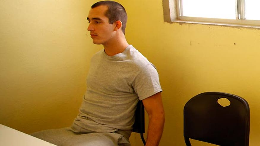 Exclusive: Sgt. Andrew Tahmooressi on how guards in the first prison where he was incarcerated retaliated against him, made his ankles bleed with tightened shackles. Plus, how he is coping with PTSD behind bars. #MarineHeldinMexico