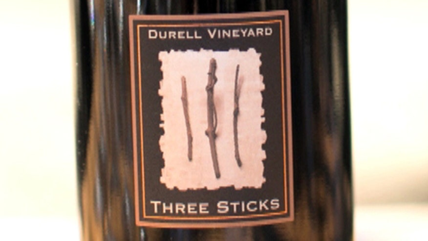 California's Three Sticks Wine doesn't crush grapes when it makes its wine.